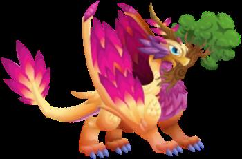 imagen del dragon paz adulto