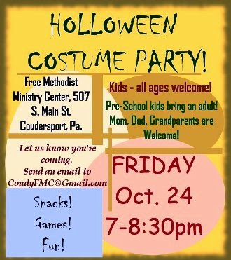 10-24 Holloween Costume Party