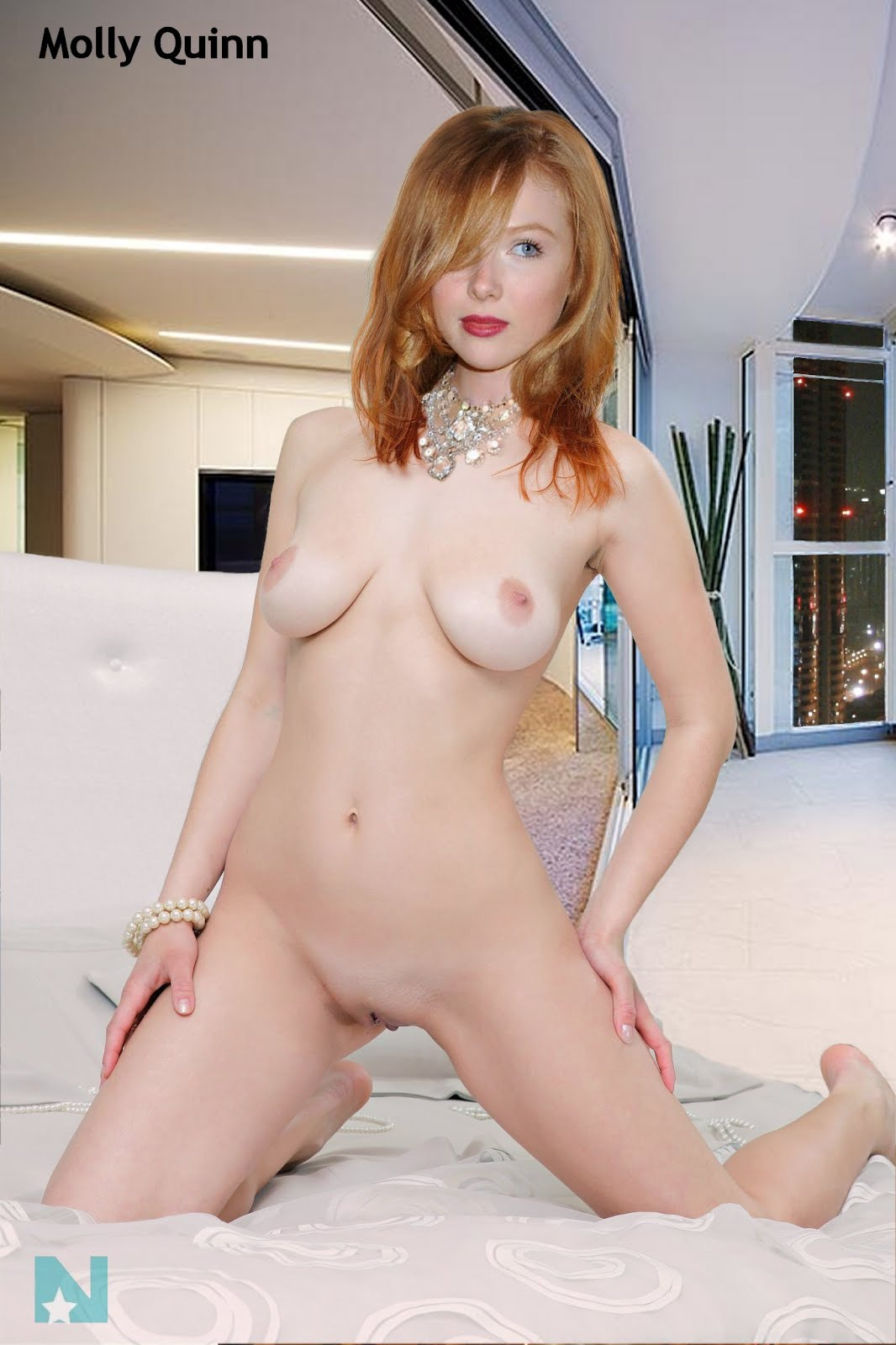 Trillian Fakes : Molly Quinn Hot Naked Babe