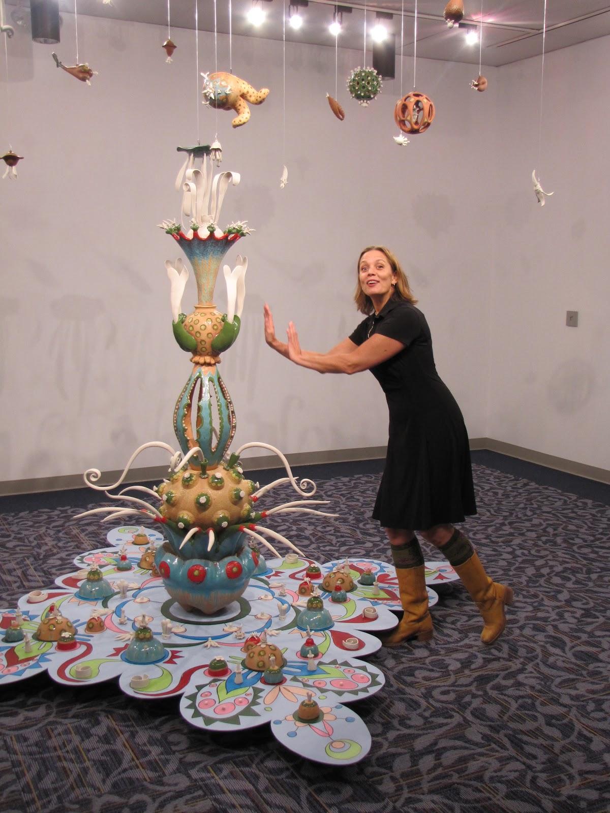 Tammy Marinuzzi Ceramic Artist Eva Champagne Gcsc