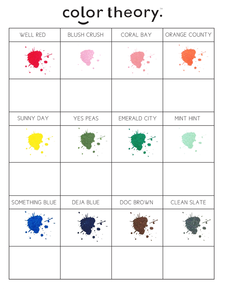 essay on color theory Color relationships: creating color harmony by kate smith what is color harmony experts have specific ideas based on the principles of color theory and color psychology of color combinations that are aesthetically appealing and pleasant.