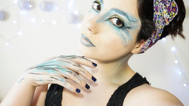 maquillaje para espectáculos de ballet