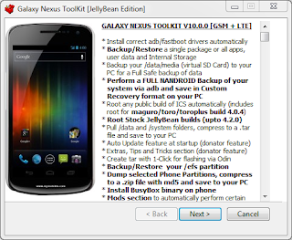 Galaxy Nexus TooLKit