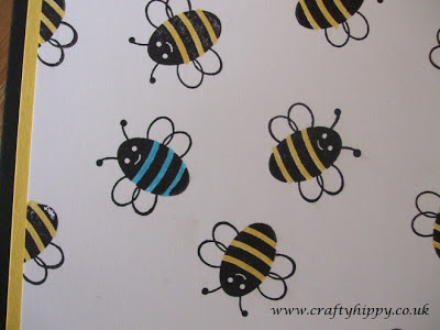 Stampin' Up! Spring Sampler - Bee