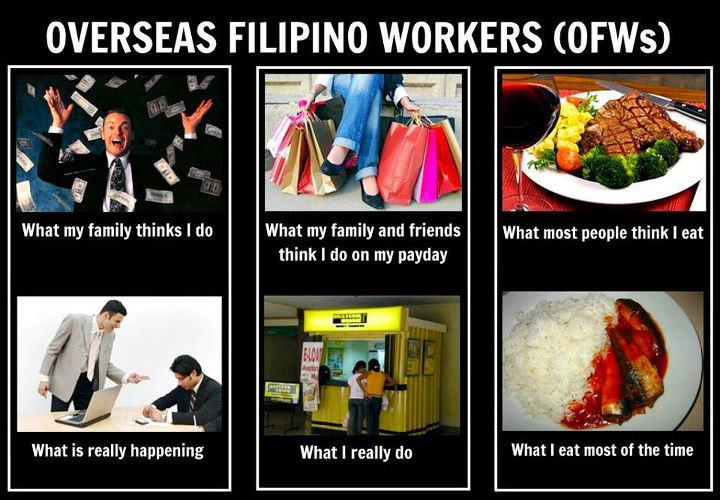 overseas filipino and parents Many filipinos actually think that working abroad can solve most of their problems, specially with finances, but becoming an overseas filipino worker (ofw) has its advantages and disadvantages.