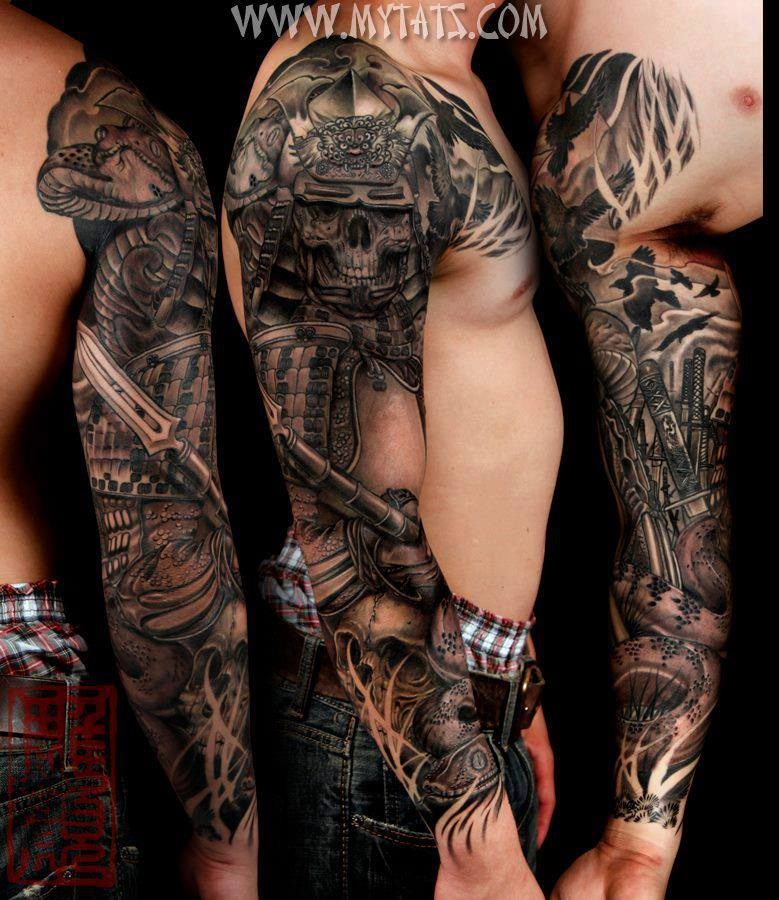 Skull Tattoo Sleeves