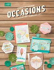 Occasions  Catalogue  4 January -31 March 2017
