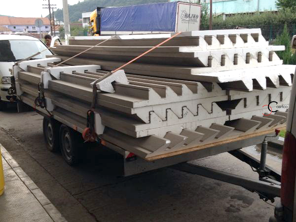 Panouri Decorative Polistiren Fatade Blocuri CoArtCo - Transport
