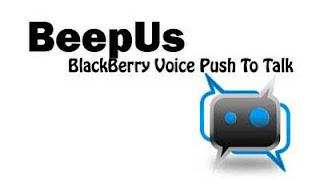 Aplikasi Walkie talkie Untuk Blackberry