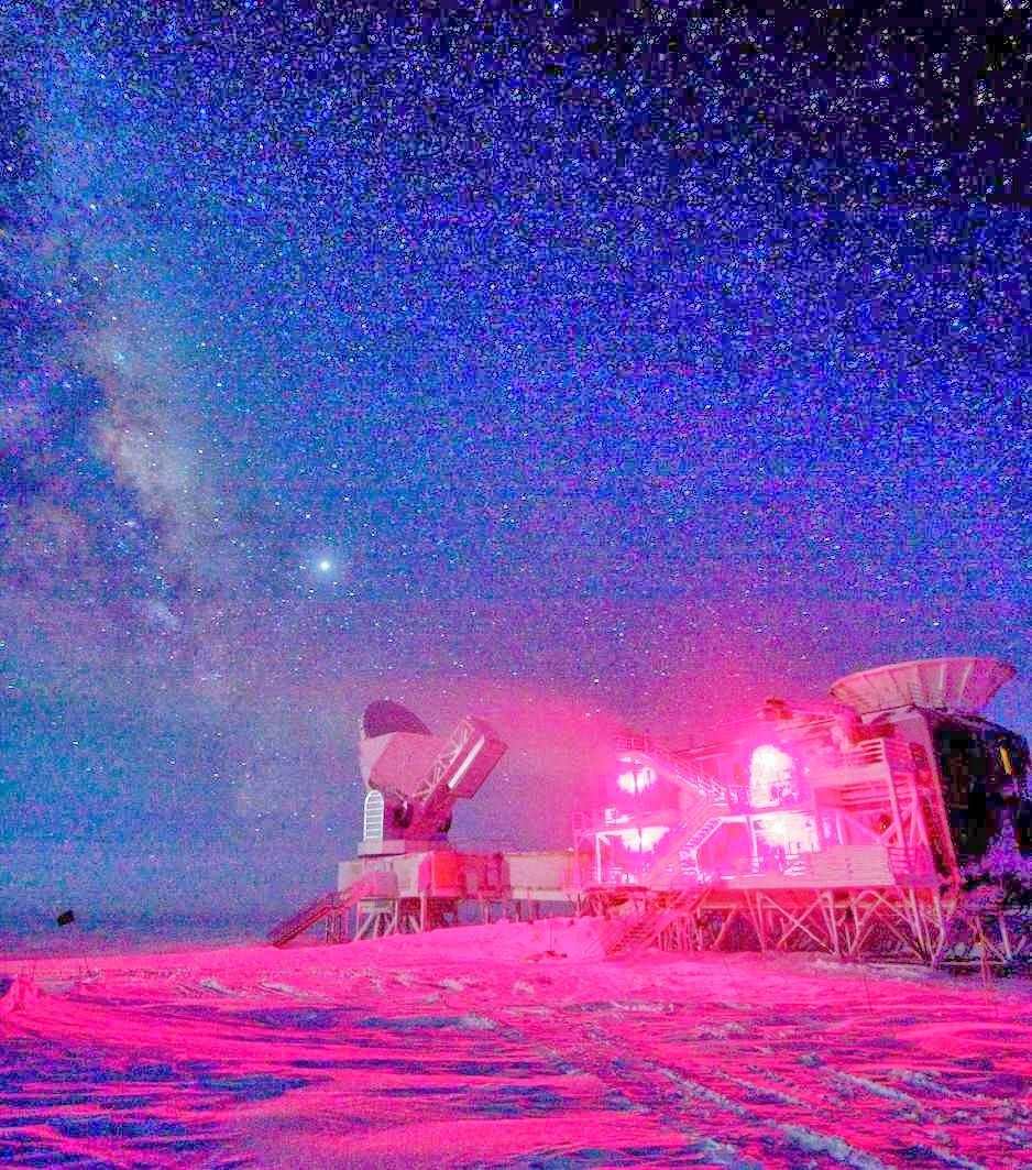 South Pole Telescope, Amundsen-Scott South Pole Station