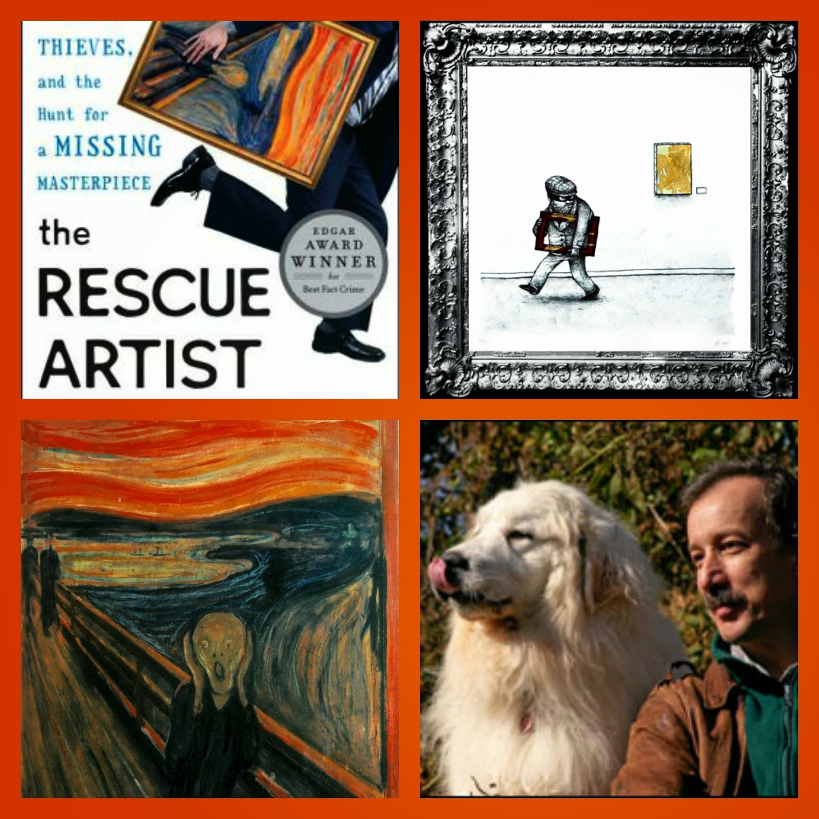 Readers of the Round Table Read The Rescue Artist for October