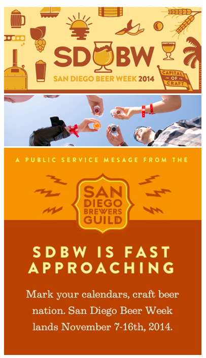 Sandiegoville get the most out of san diego beer week for Craft beer guild san diego