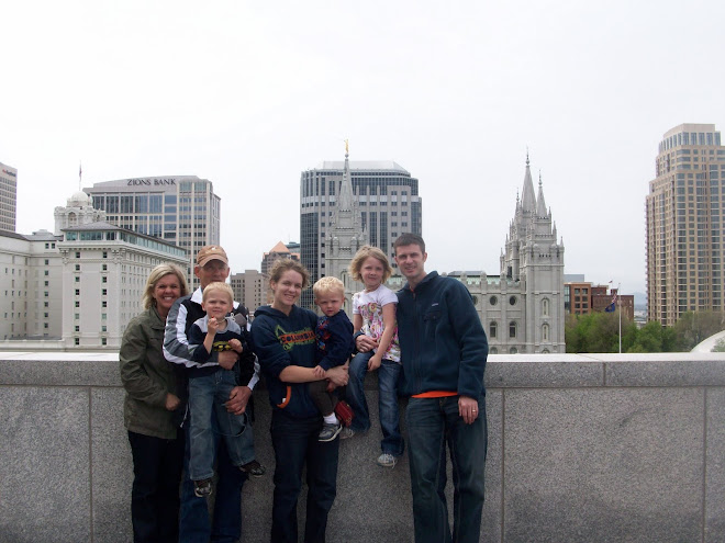 Visiting Temple Square