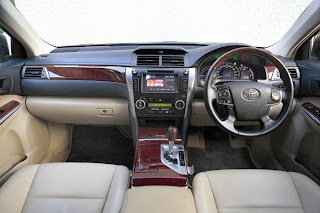 new toyota camry interior view