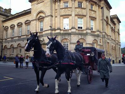 Horse and cart, Bath
