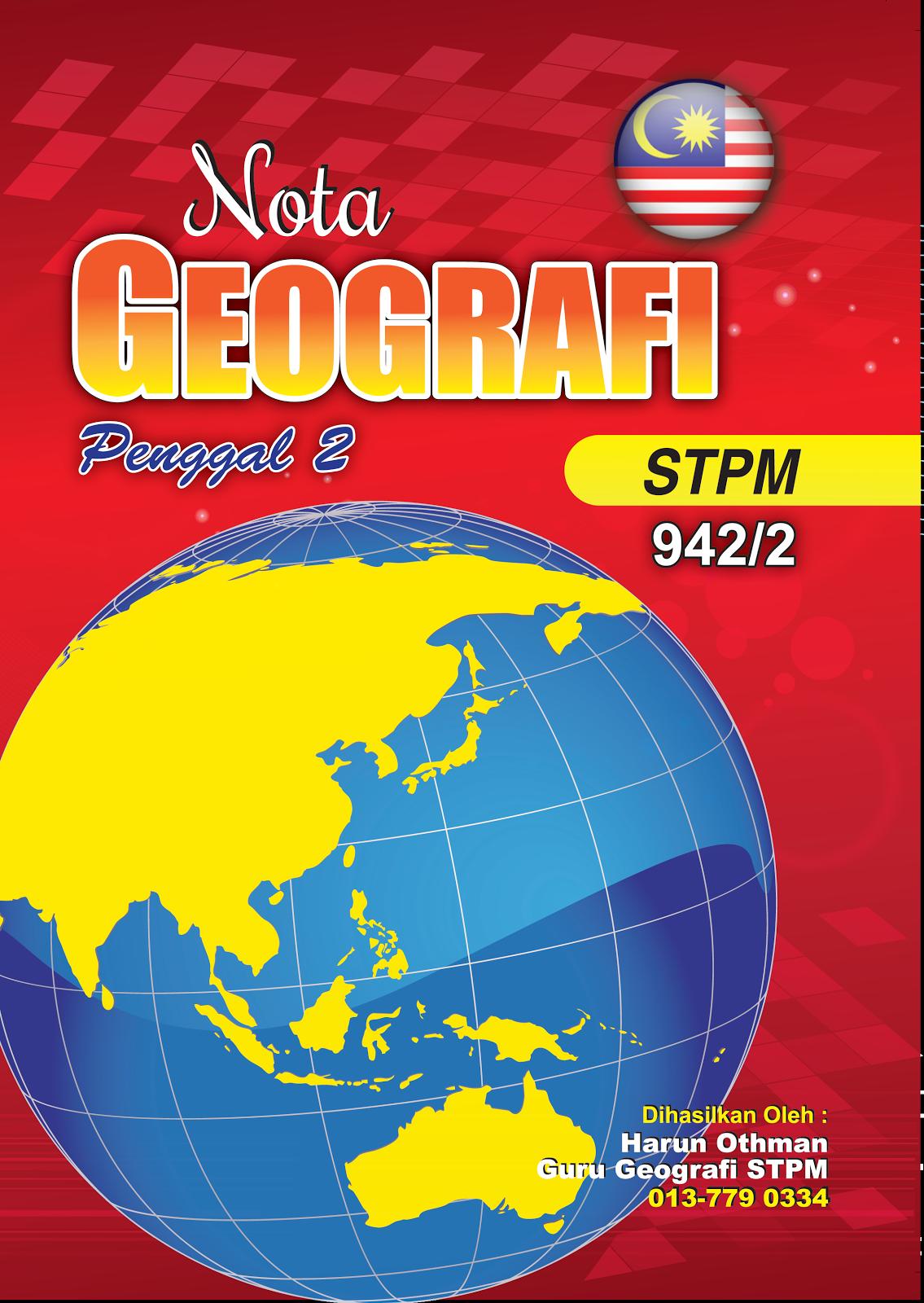 Nota Geografi Penggal 2 Tahun 2014