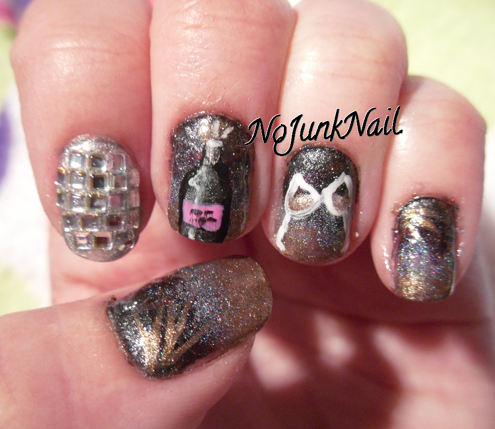 New Years Eve Nail Designs | Nail Designs, Hair Styles, Tattoos and ...