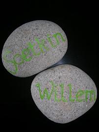 Naamstenen Soetkin* en Willem*