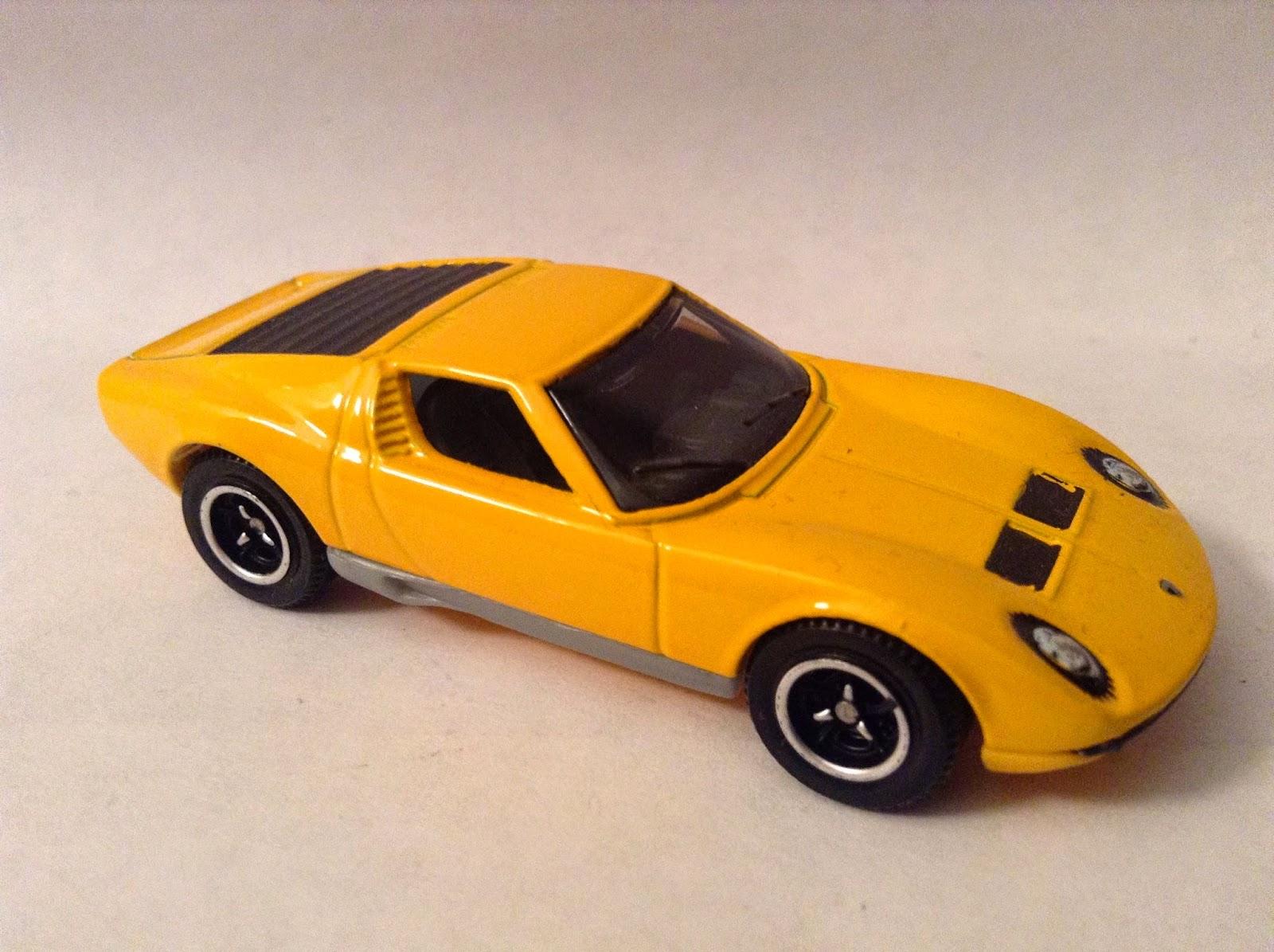 La S Diecast Blog Lesney 33c Lamborghini Miura Superfast Chassis Swap