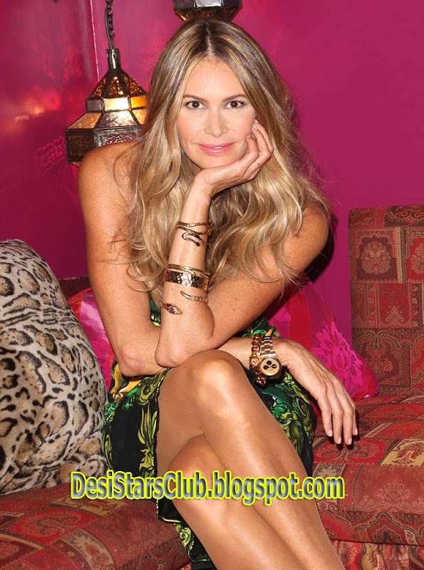 Elle Macpherson Photoshoot At The Launch Of Britain Next Top Model 2011