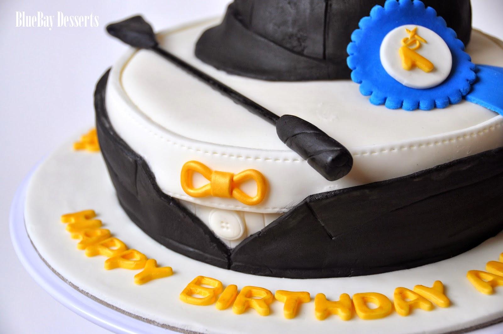 Bluebay Desserts Vancouver Bc Amys Equestrian Themed Birthday