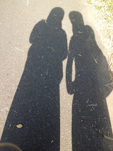 with my friend