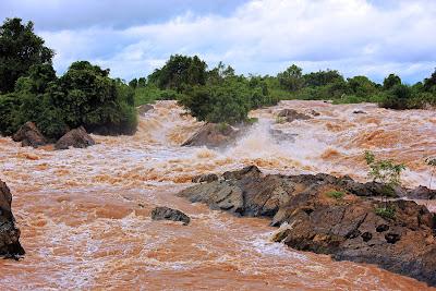 Somphamit Falls (Don Khon, Laos)
