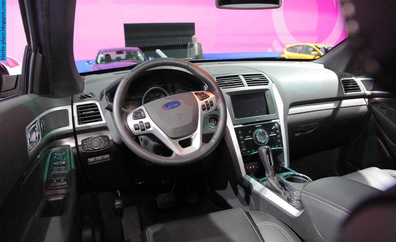 Ford explorer car 2013 interior - صور سيارة فورد اكسبلورر 2013 من الداخل