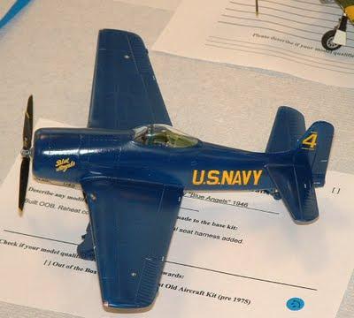 F8F Bearcat model kit photo