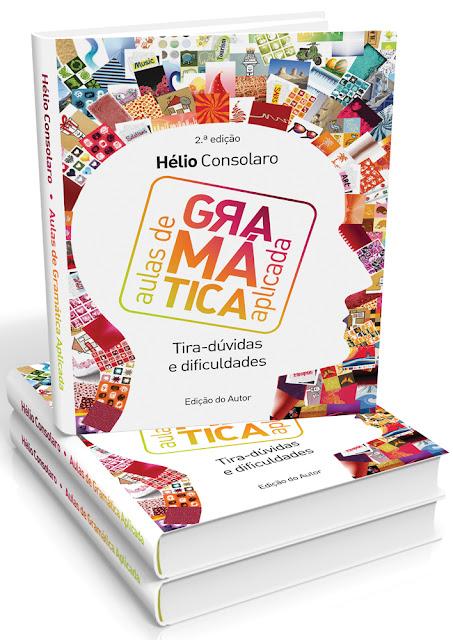 Adquira o livro AULAS DE GRAMÁTICA APLICADA