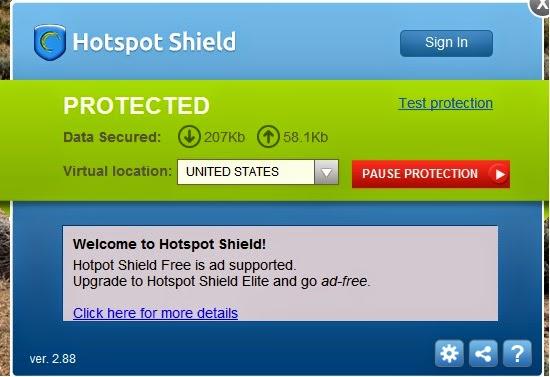 Download HOTSPOT SHIELD ELITE V2.88 cracked