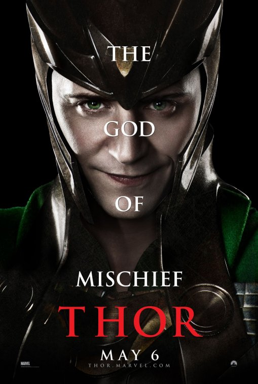 Loki poster Thor movie