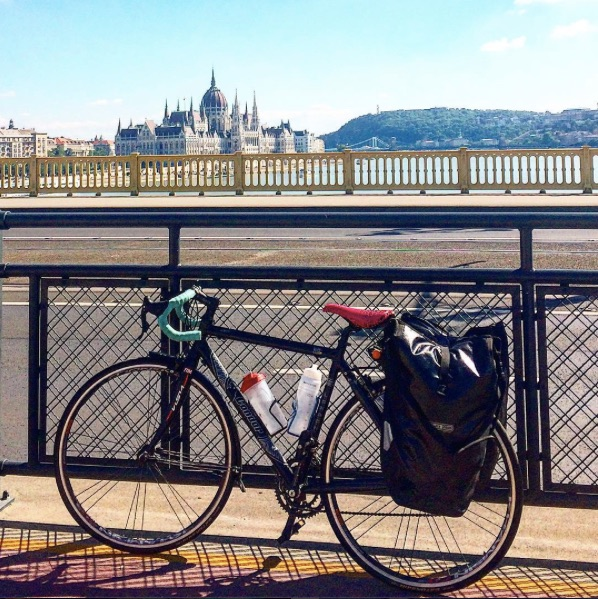 That time I cycled from Brussels to Budapest (up the Rhine & down the Danube)