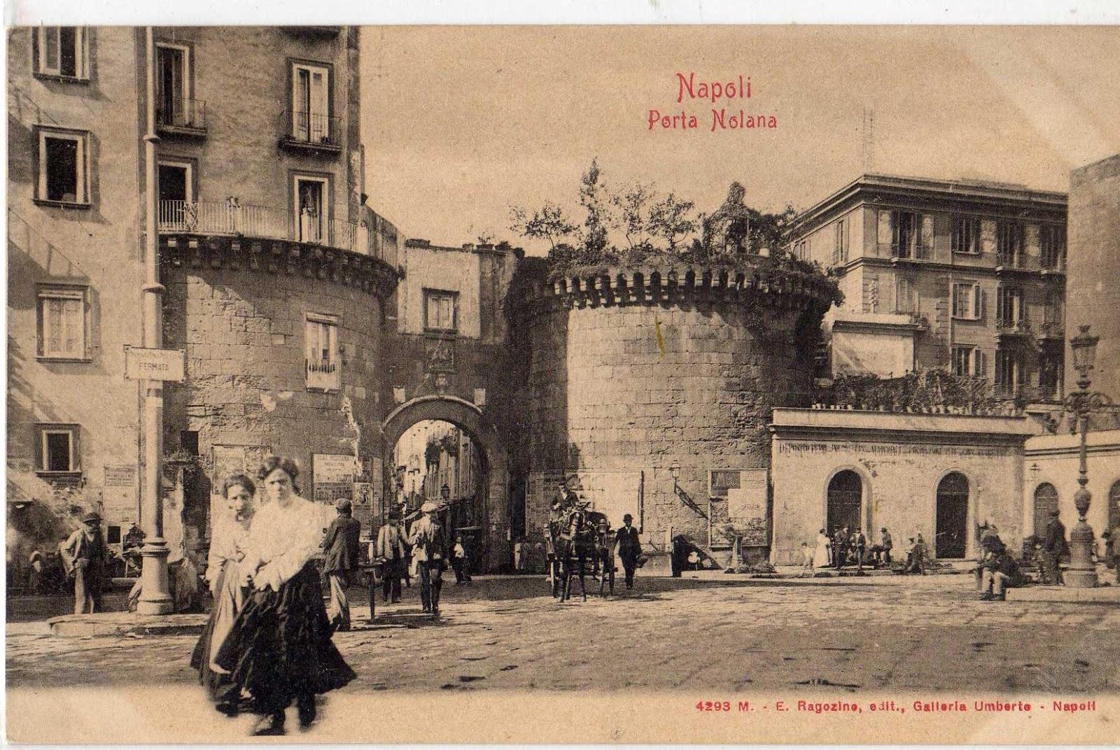 Napoli porta nolana antiche cartoline di napoli - Porta cartoline ...