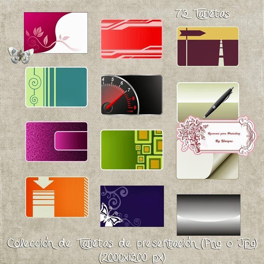 Recursos Photoshop Llanpac: Colección de Tarjetas de presentación ...