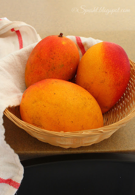 delicious ripe mangoes