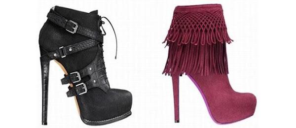 Tacones de moda otoño - invierno 2013