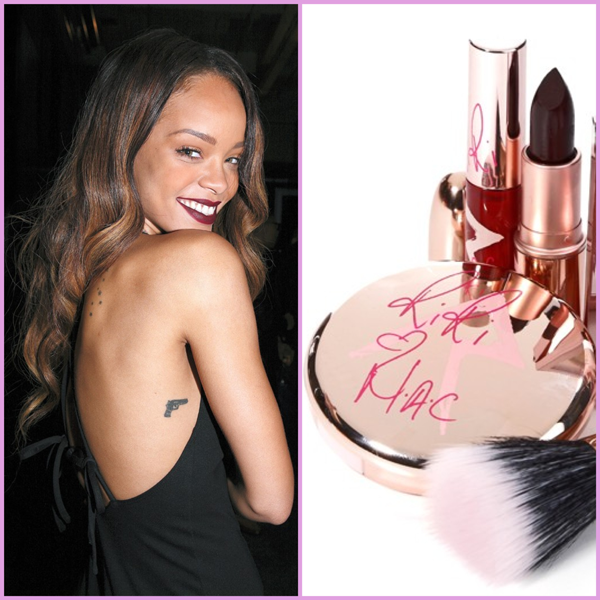 Rihanna for mac: riri hearts