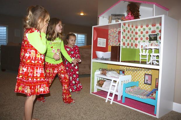 IKEA American Girl Doll House