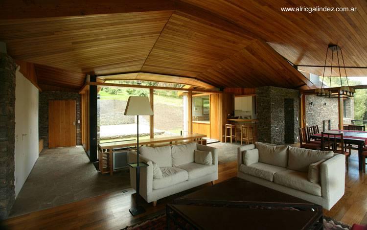 Arquitectura de casas fotograf as de casas for Sala de estar vista desde arriba