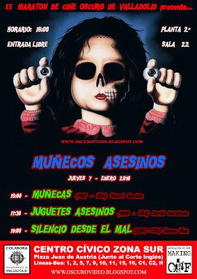 II MARATÓN DE CINE OSCURO DE VALLADOLID: MUÑECOS ASESINOS (JUEVES 07)