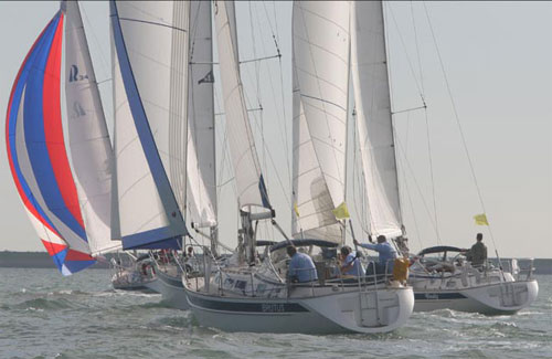 "Today start in Ellos ""The Hallberg Rassy regatta where everybody wins"", ..."