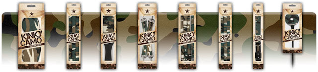 Productos de bondage Kinky Camo