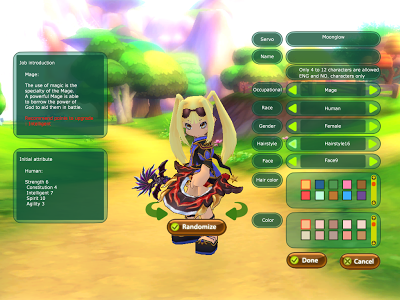 FairyLand 2 Online - Character Creation Mage