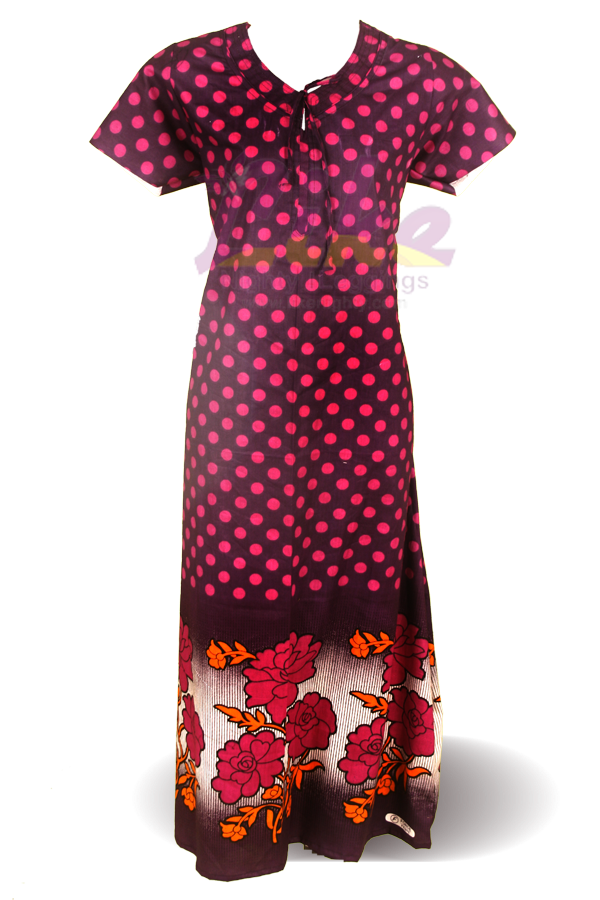 Ladies Cotton Nighty New Neck Design Updated 2015 March ...