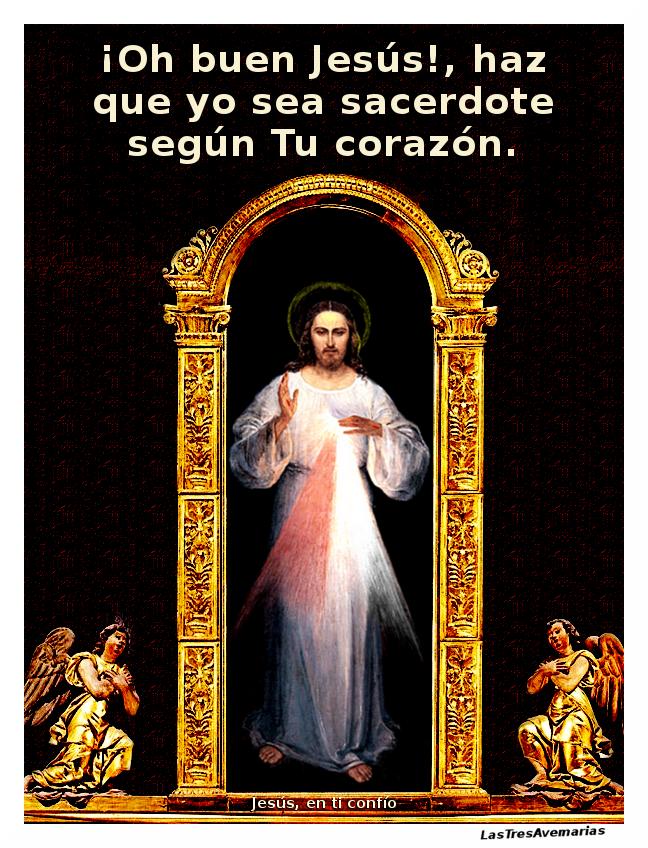 jaculatoria para pedir ser buen sacerdote como jesus