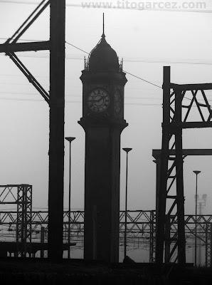 Relógio réplica do Big Ben, em Paranapiacaba
