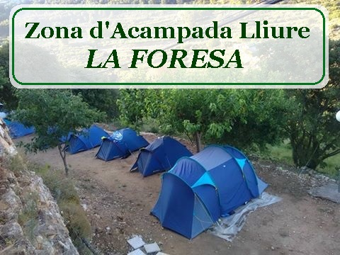 Zona d' acampada libre