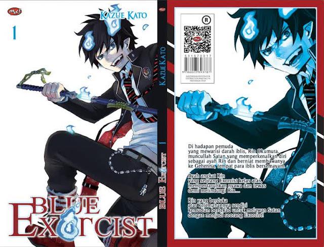 Ao no Exorcist Manga