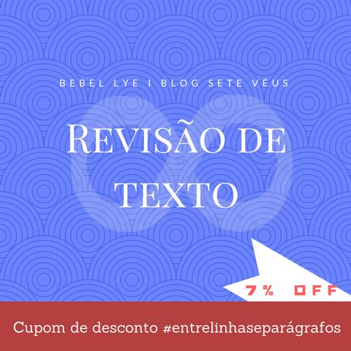 Cupom de desconto - Revisão de texto